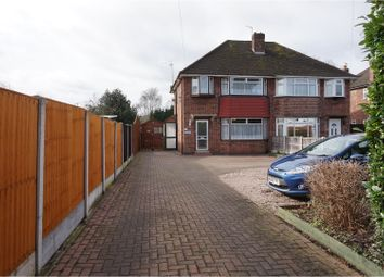 Thumbnail 3 bed semi-detached house for sale in Brackens Lane, Alvaston