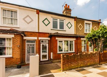 Thumbnail 3 bed terraced house for sale in Myrtle Road, Hampton Hill