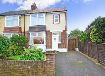 Thumbnail 3 bed semi-detached house for sale in The Crest, Widley, Waterlooville, Hampshire