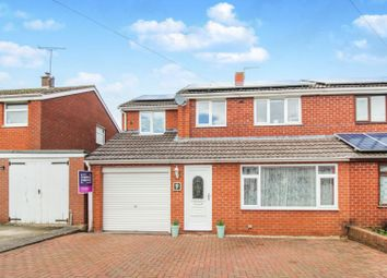 Thumbnail 4 bed semi-detached house for sale in Burnell Close, Shrewsbury