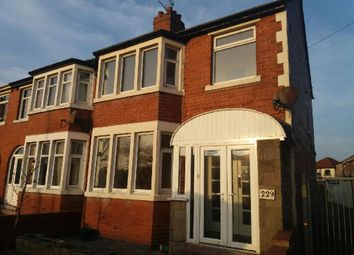 Thumbnail 3 bed end terrace house for sale in Kingscote Drive, Blackpool