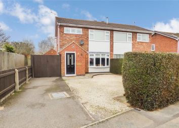 Thumbnail 3 bed semi-detached house for sale in Uppingham Drive, Broughton Astley, Leicester, Leicestershire