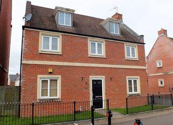 Thumbnail 4 bed detached house to rent in Redhouse Gardens, Swindon