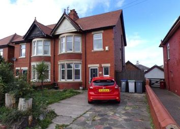 Thumbnail 3 bed semi-detached house for sale in Poulton Road, Blackpool, Lancashire