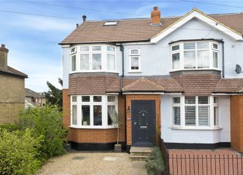 Thumbnail 3 bed end terrace house for sale in Tolworth Road, Surbiton, Surrey