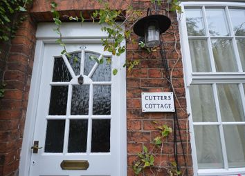 Thumbnail 2 bedroom terraced house to rent in Cutters Cottage, The Commons, Sandbach, Cheshire