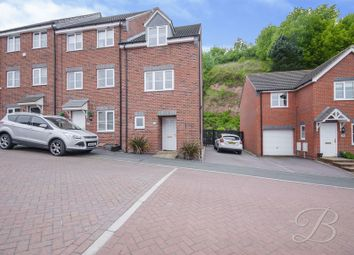 Thumbnail 3 bed town house for sale in Bank End Close, Mansfield