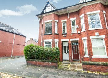 Thumbnail 4 bed end terrace house to rent in Platt Lane, Fallowfield, Manchester