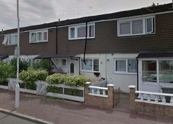 Thumbnail 3 bed terraced house to rent in Tennyson Road, Stratford, London