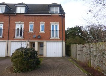 Thumbnail 3 bed end terrace house to rent in Saffron Close, Downham Market