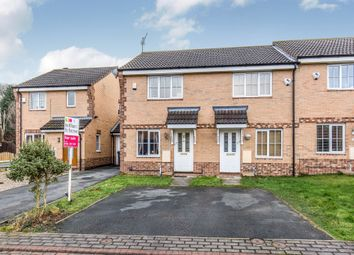 Thumbnail 2 bedroom end terrace house for sale in Pitchstone Court, Farnley, Leeds