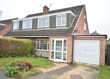 Thumbnail 3 bed semi-detached house for sale in Silverdale Avenue, Leeds, West Yorkshire