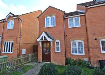 Thumbnail 3 bed end terrace house for sale in Dandridge Court, Grange Farm, Milton Keynes