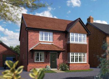 "Thumbnail 4 bed detached house for sale in ""The Canterbury"" at Hall End, Wootton, Bedford"