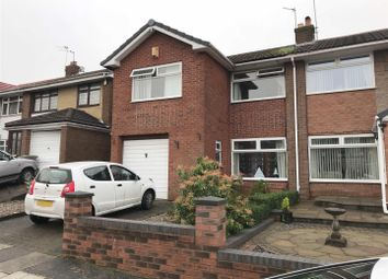 Thumbnail 3 bed semi-detached house for sale in Linford Grove, St. Helens, Merseyside