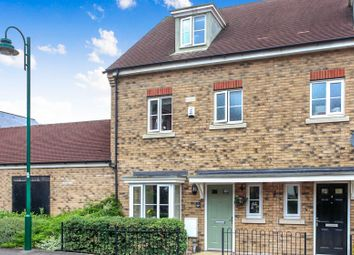 Thumbnail 4 bed end terrace house for sale in Chaffinch Lane, Hampton Vale, Peterborough