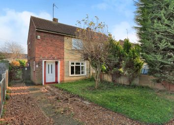 Thumbnail 2 bedroom semi-detached house for sale in Hallfields Lane, Peterborough
