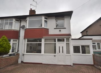 Thumbnail 3 bed semi-detached house to rent in Eastlea Avenue, Watford