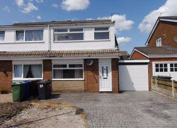 Thumbnail 3 bed semi-detached house to rent in Crediton Drive, Platt Bridge, Wigan