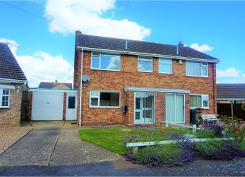 Thumbnail 3 bed semi-detached house for sale in Jonathan Gardens, Sleaford