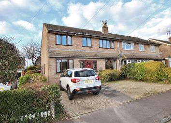 Thumbnail 4 bed semi-detached house for sale in Isis Close, Long Hanborough, Witney