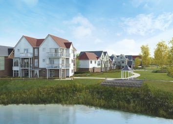 Thumbnail 2 bedroom flat for sale in Manley Boulevard, Holborough Lakes, Snodland, Kent