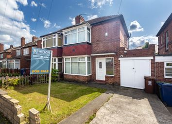 Thumbnail 2 bed semi-detached house for sale in Amberley Gardens, High Heaton, Newcastle Upon Tyne