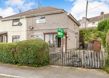 Thumbnail 3 bed semi-detached house for sale in Taliesyn Road, Townhill, Swansea