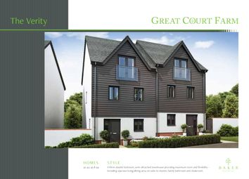 Thumbnail 3 bed semi-detached house for sale in Courtfield, Totnes