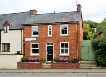Thumbnail 2 bed end terrace house for sale in Burton House, 1, Raven Street, Welshpool, Powys