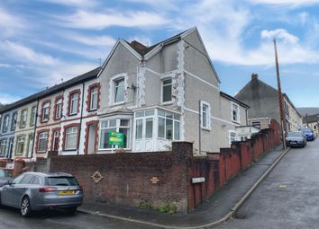 Thumbnail 3 bed end terrace house for sale in Queens Terrace, Troedyrhiw, Merthyr Tydfil