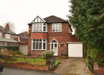 Thumbnail 3 bed detached house to rent in Egerton Road North, Chorlton Cum Hardy, Manchester