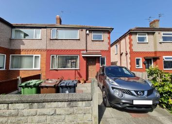 Thumbnail 3 bed semi-detached house for sale in Marina Crescent, Bootle