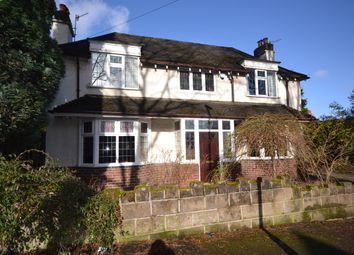 Thumbnail 3 bed detached house for sale in Broughton Road, Newcastle-Under-Lyme