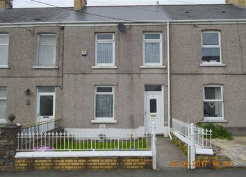 Thumbnail 3 bedroom terraced house for sale in Glanyrafon Road, Swansea