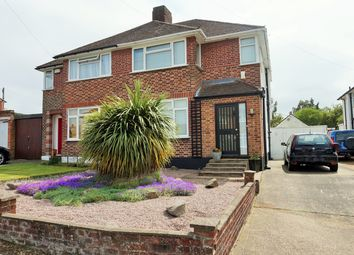 Thumbnail 3 bedroom semi-detached house for sale in Felstead Close, Luton