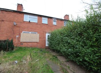 Thumbnail 3 bed terraced house for sale in Ainsdale Crescent, Nottingham