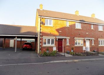 Thumbnail 3 bed end terrace house for sale in Ffordd Y Grug, Coity, Bridgend.
