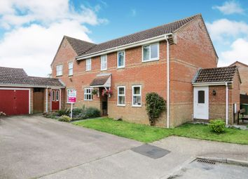 Thumbnail 2 bedroom terraced house for sale in Campion Way, Attleborough