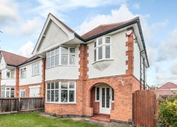 Thumbnail 3 bed detached house for sale in Glenfield Road, Western Park, Leicester