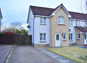 Thumbnail 3 bed semi-detached house for sale in Chuckethall Road, Livingston