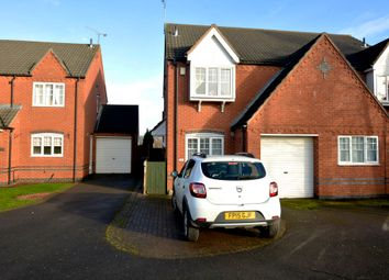 Thumbnail 3 bed semi-detached house for sale in Grange View, Battram, Coalville