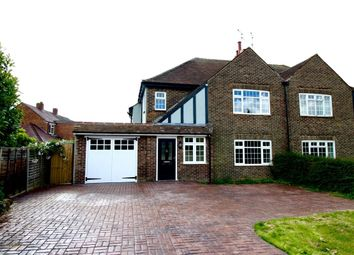 Thumbnail 4 bed semi-detached house for sale in Gossamer Lane, Bognor Regis
