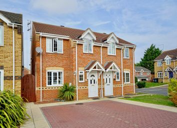 Thumbnail 3 bed semi-detached house for sale in Saddlers Way, Raunds, Wellingborough