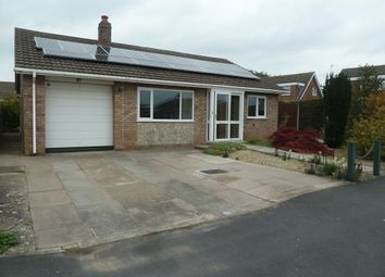 Thumbnail 3 bed detached bungalow to rent in 62 Pyms Road, Wem, Shropshire