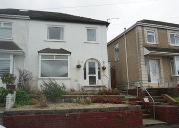 Thumbnail 3 bed semi-detached house for sale in Lydford Avenue, Swansea