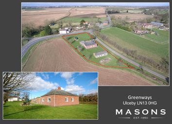 Thumbnail 4 bed detached bungalow for sale in Ulceby, Alford