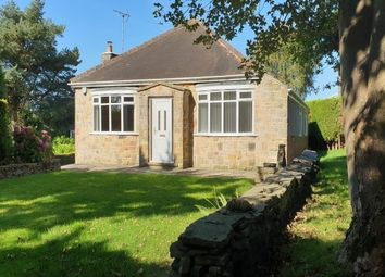Thumbnail 3 bed bungalow to rent in Holmesfield, Dronfield