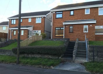 Thumbnail 2 bed semi-detached house for sale in Llangyfelch Road, Swansea