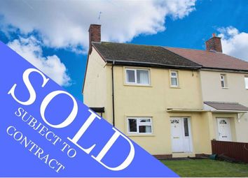 Thumbnail 2 bed semi-detached house for sale in Maes Glas, Treuddyn, Flintshire